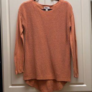Loft Pumpkin Color Sweater